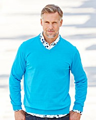 WILLIAMS & BROWN V-Neck Jumper