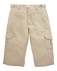 WILLIAMS & BROWN Linen Mix 3/4 Pants