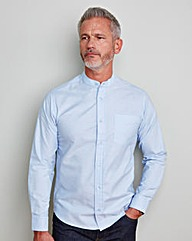 WILLIAMS & BROWN Grandad Oxford Shirt
