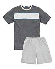Southbay Short-Sleeve Pyjama Shorts Set