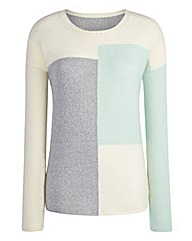 Colour-Block Jumper