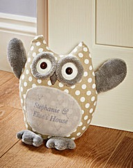 Personalised Owl Door Stop