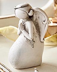 Resin Praying Angel Ornament