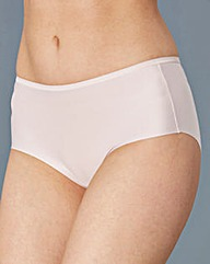 3 Pack Mid Rise No VPL Shortie Briefs