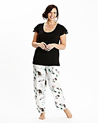 JOANNA HOPE Frill Pyjama Set