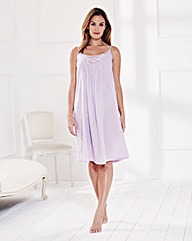 Pretty Secrets Strappy Cotton Chemise