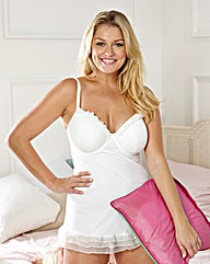 Natually Close Padded Plunge Babydoll