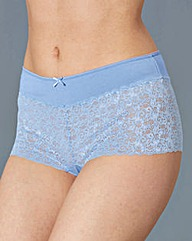 5 Pack Pastel Lace Shorts