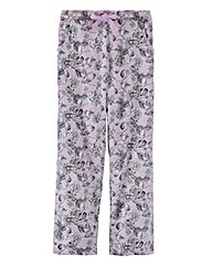 Pretty Secrets Pyjama Bottoms Long 30in
