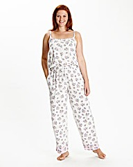 Pretty Secrets Print Strappy Onesie