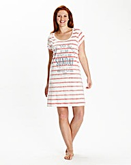 Simply Yours Reverse Stripe Nightdress