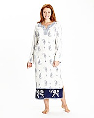 Simply Yours Printed Kaftan