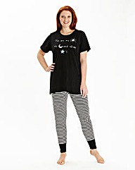 Pretty Secrets T-shirt and Leggings Set