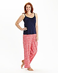 Pretty Secrets Pack of2 Cami Pyjamas L28