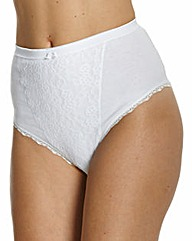 Naturally Close Pack of 2 Control Briefs
