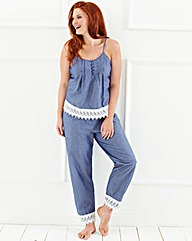 Simply Yours Cotton Chambray PJ Set
