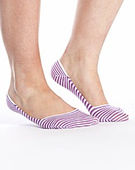 Pack of 3 Footsie Socks