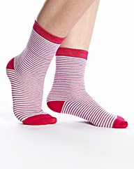 Naturally Close Pack of 3 Ankle Socks