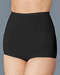 Black Five Pack Cotton Comfort Shorts