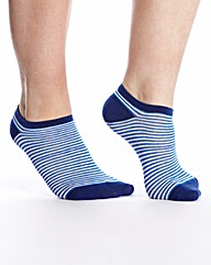 Naturally Close Pack of 3 Trainer Socks