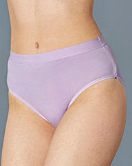 Pastel Ten Pack Cotton Rich Midi Briefs