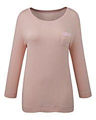 Pretty Secrets Jersey T-Shirt Pyjama Top