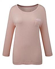Pretty Secrets Jersey T-Shirt Pyjama Top