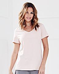 Pretty Secrets Flared Jersey T-shirt Top