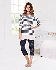Pretty Secrets Stripe Pyjama Set