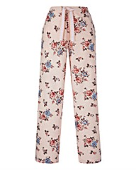 Woven Floral Pyjama Bottoms Long