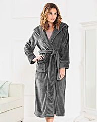 Pretty Secrets Luxury Hooded Gown 48in