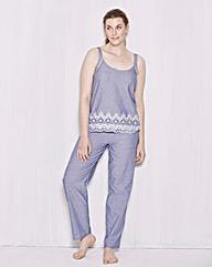 Pretty Secrets Striped Cami Pyjama Set