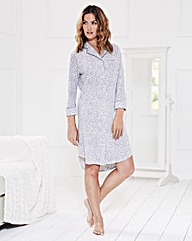 Jersey Animal Print Nightshirt