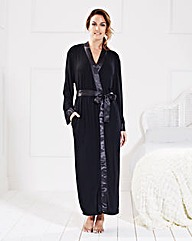 Pretty Secrets Jersey Wrap Gown 50in