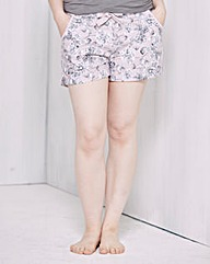 Pretty Secrets Printed Pyjama Shorts