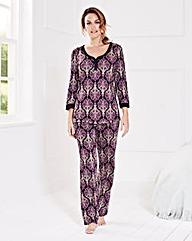 Miliarosa Paisley Jersey Pyjama Set