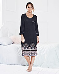 Miliarosa 3/4 Sleeved Nightdress