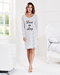 Pretty Secrets Long Sleeve Nightdress