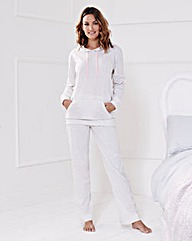 Pretty Secrets Jersey Hooded Pyjama Set