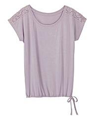 Pretty Secrets Blouson Pyjama Top