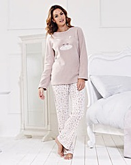 Giraffe Microfleece Pyjama Set