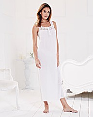 Pretty Secrets Cotton Maxi Chemise