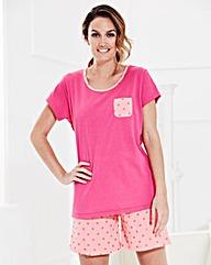Pretty Secrets Pack of 2 Shortie Pyjamas