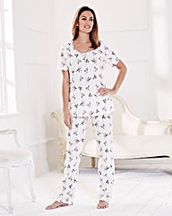 Pretty Secrets Pack of 2 Pyjamas Petite