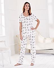 Pretty Secrets Pack of 2 Pyjamas Petite