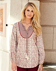 JOANNA HOPE Print Gypsy Tunic