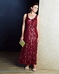 JOANNA HOPE Sequin Maxi Dress