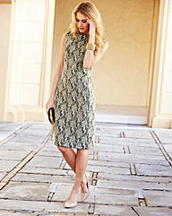 JOANNA HOPE Bonded Lace Dress