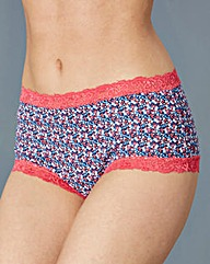 5 Pack Nautical Shortie Briefs