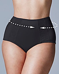 Three Pack Dotty Firm Control Briefs